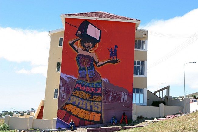 Big Walls By Mode2, Falko - Cape Town (South Africa)
