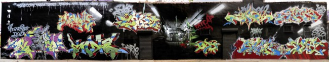 Fresques Par Cope2, Indie 184, Shadow, T-kid, Ewok, Oh, Deem, Jick, Jee - New York City (NY)