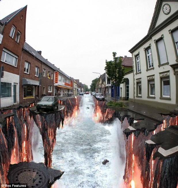 Street Art By Edgar Mueller - Geldern (Germany)