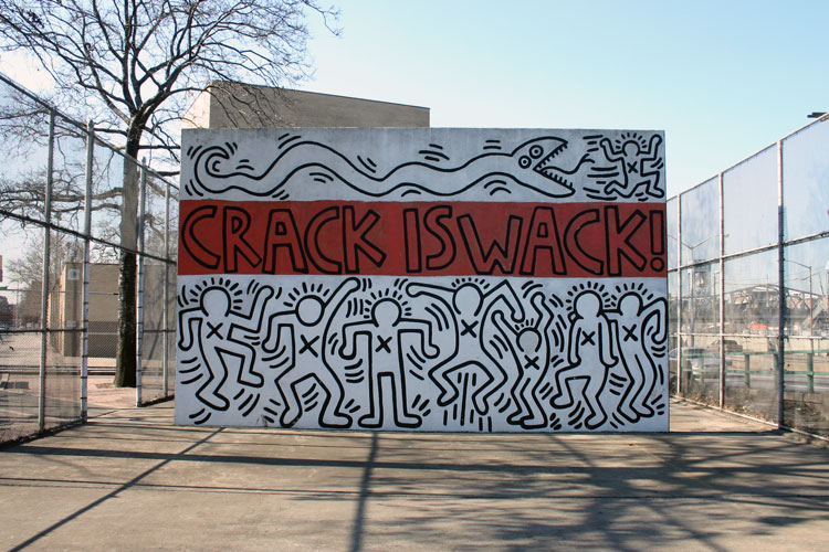 by keith haring new york city ny and graffiti fatcap