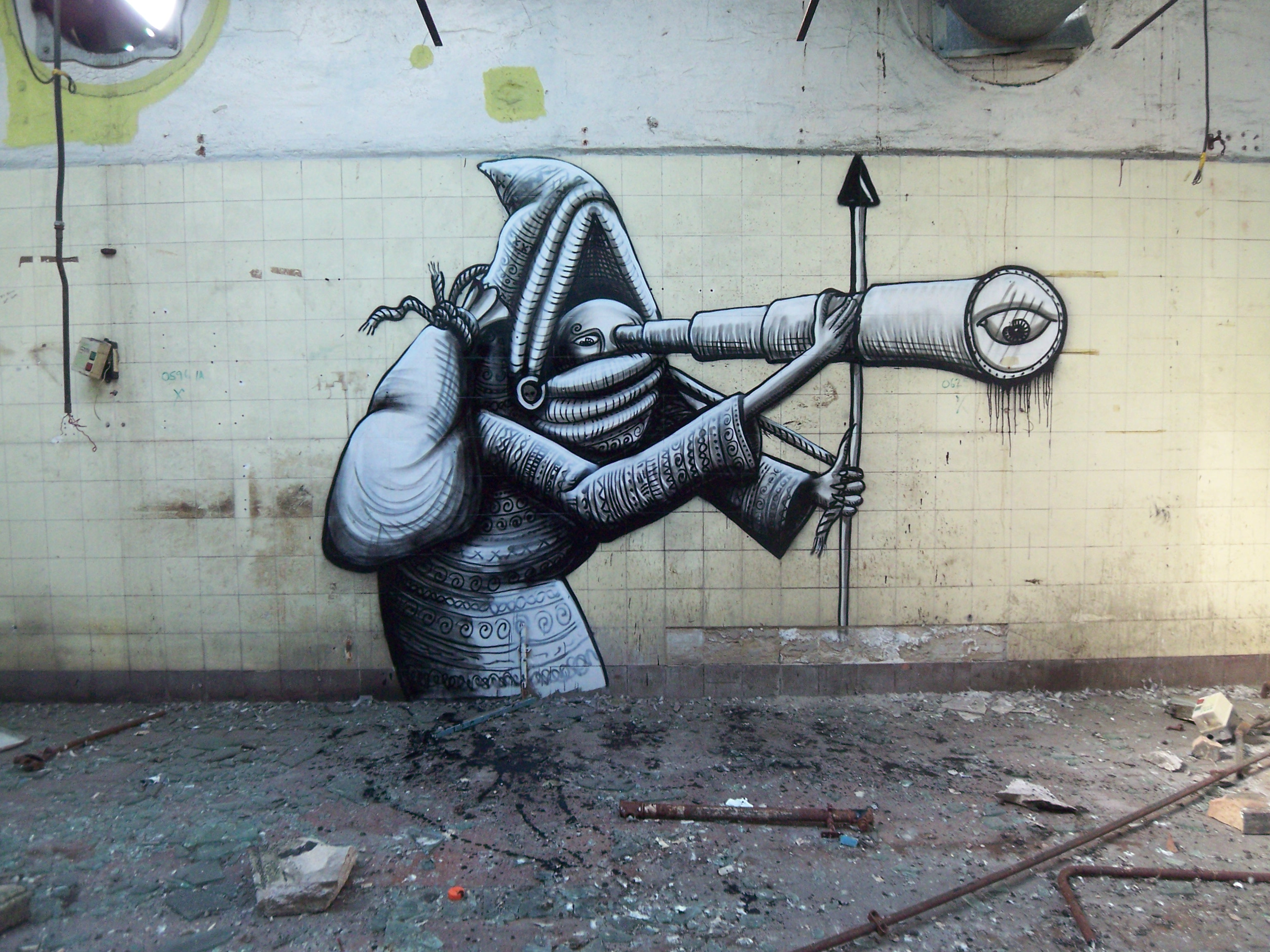 Sheffield United Kingdom  City new picture : Characters By Phlegm Sheffield United Kingdom Street art and ...