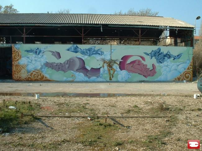 Fresques Par Asty, Hers - Toulon (France)