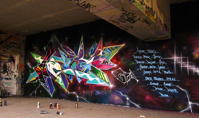 Fresques Par Acud - Berlin (Allemagne)